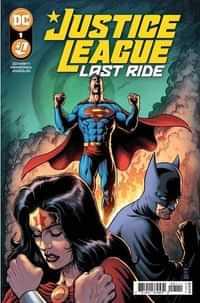 Justice League Last Ride #1 CVR A Darick Robertson