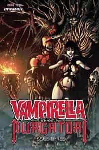 Vampirella Vs Purgatori #3 CVR C Fox
