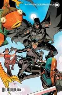 Batman Fortnite Zero Point #4 CVR B Cardstock Dan Mora