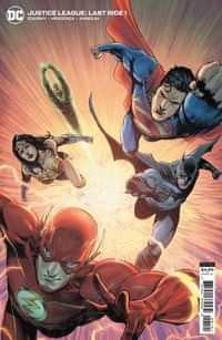 Justice League Last Ride #1 CVR B Cardstock Miguel Mendonca