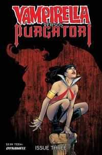 Vampirella Vs Purgatori #3 Variant Sarraseca FOC
