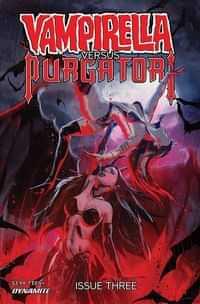 Vampirella Vs Purgatori #3 CVR D Kudranski