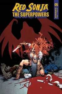 Red Sonja The Superpowers #5 CVR D Lau