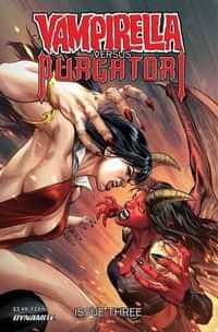 Vampirella Vs Purgatori #3 CVR B Pagulayan