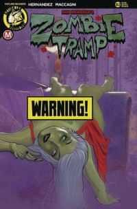 Zombie Tramp #82 CVR D Andrew Herman Risque