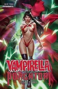 Vampirella Vs Purgatori #3 CVR A Chew