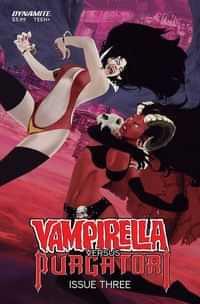 Vampirella Vs Purgatori #3 Variant Maine FOC