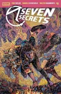 Seven Secrets #8 CVR B Riccardi