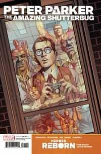 Heroes Reborn Peter Parker Amazing Shutterbug #1