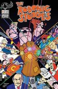 Robonic Stooges Return #1