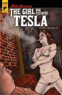 Minky Woodcock Girl Electrified Tesla #2 CVR C Buhler