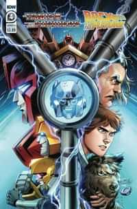 Transformers Back To Future #4 CVR A Juan Samu