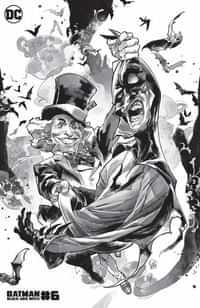 Batman Black And White #6 CVR C Yasmine Putri Mad Hatter Var