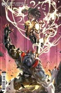 Justice League #61 CVR B Cardstock Kael Ngu