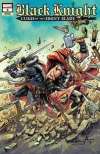 Black Knight Curse Ebony Blade #3 Variant Davila