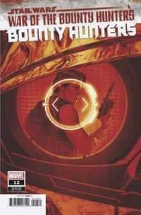 Star Wars Bounty Hunters #12 Variant De Iulis Crimson
