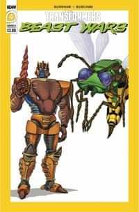 Transformers Beast Wars #4 CVR B Dan Schoening