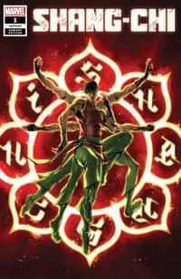 Shang-chi #1 Variant Superlog