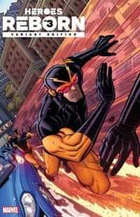 Heroes Reborn #3 Variant 25 Copy Bradshaw