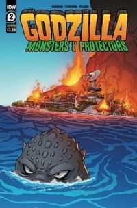 Godzilla Monsters and Protectors #2 CVR A Dan Schoening