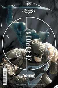 Batman Fortnite Zero Point #3 Second Printing