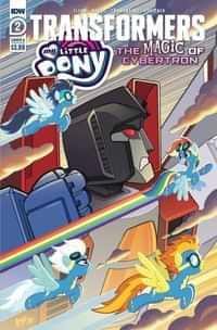 Mlp Transformers Ii #2 CVR A Tony Fleecs