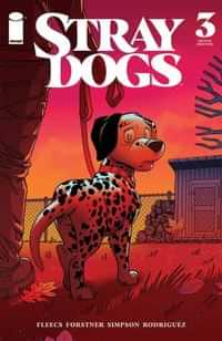 Stray Dogs #3 Second Printing