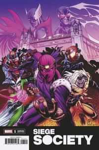 Heroes Reborn Siege Society #1 Variant Ferreira