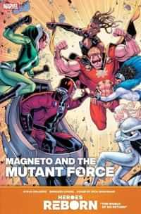 Heroes Reborn Magneto And Mutant Force #1