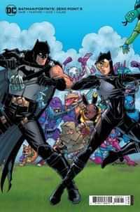 Batman Fortnite Zero Point #5 CVR B Cardstock Amanda Conner