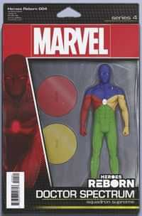 Heroes Reborn #4 Variant Christopher Action Figure