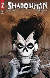 Shadowman #2 CVR A Davis-hunt