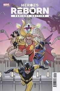 Heroes Reborn #4 Variant 25 Copy Medina Squadron Supreme