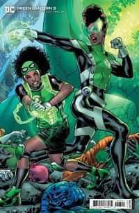 Green Lantern #3 CVR B Cardstock Bryan Hitch