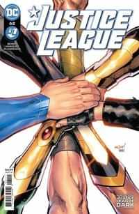Justice League #62 CVR A David Marquez
