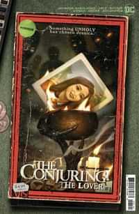Dc Horror Presents The Conjuring The Lover #1 CVR B Cardstock Ryan Brown Vhs Tribute