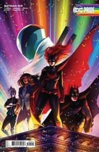 Batman #109 CVR C Cardstock Jen Bartel Pride Month