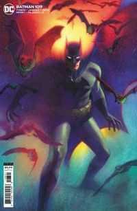 Batman #109 CVR B Cardstock Joshua Middleton