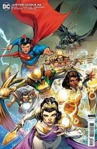 Justice League #62 CVR B Cardstock Howard Porter
