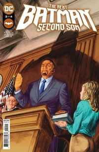Next Batman Second Son #3 CVR A Doug Braithwaite