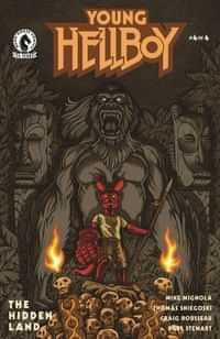 Young Hellboy The Hidden Land #4 CVR B Carpenter