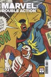 Heroes Reborn Marvel Double Action #1 Variant Wu