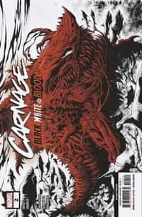 Carnage Black White And Blood #2 Second Printing Hotz