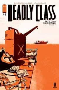 Deadly Class #46 CVR A Craig and Wordie