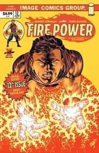 Fire Power #12 CVR J Larsen