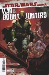 Star Wars War Bounty Hunters #1 Variant 50 Copy Larraz