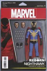 Heroes Reborn #5 Variant Christopher Action Figure