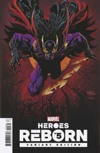 Heroes Reborn #5 Variant 25 Copy Hotz