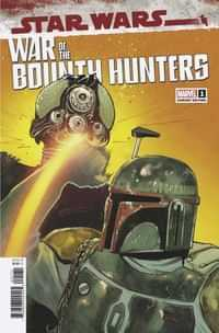 Star Wars War Bounty Hunters #1 Variant Pichelli