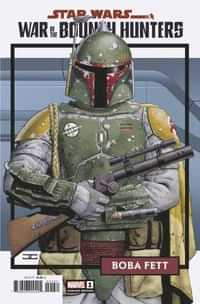 Star Wars War Bounty Hunters #1 Variant 25 Copy Trading Card